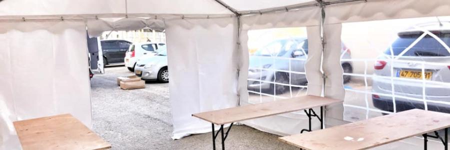 אוהלים לאירועים – פתרון מושלם להפקת אירוע בטבע או במקום ציבורי