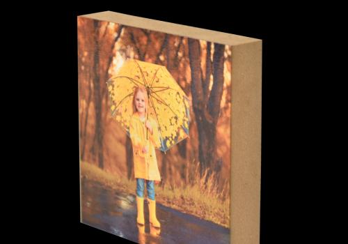 תמונה על בלוק עץ - מתנה לאנשים שאוהבים